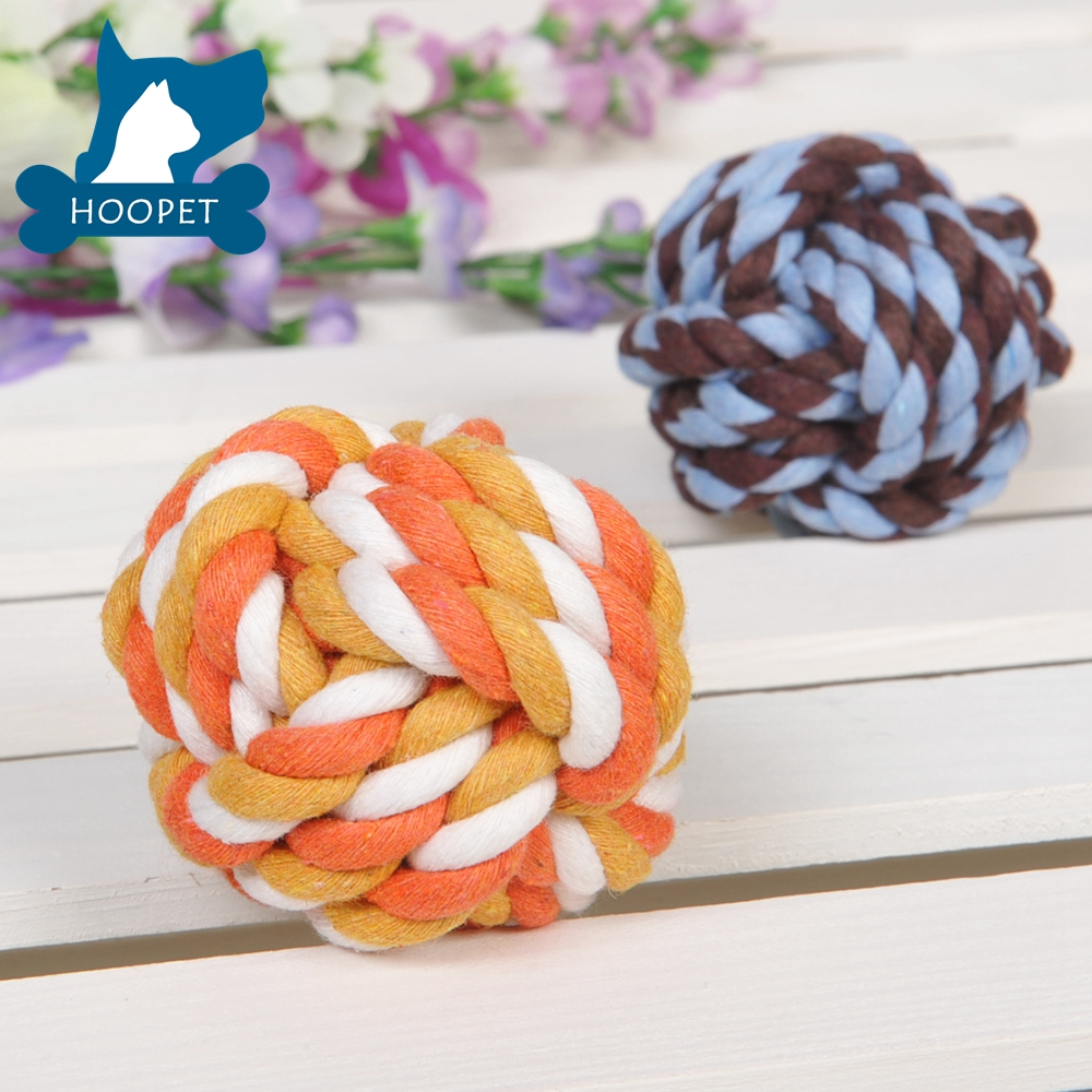 Natural Pet Toy High Quality Rope Dog Balls Cozy Pet Balls For Small Cats
