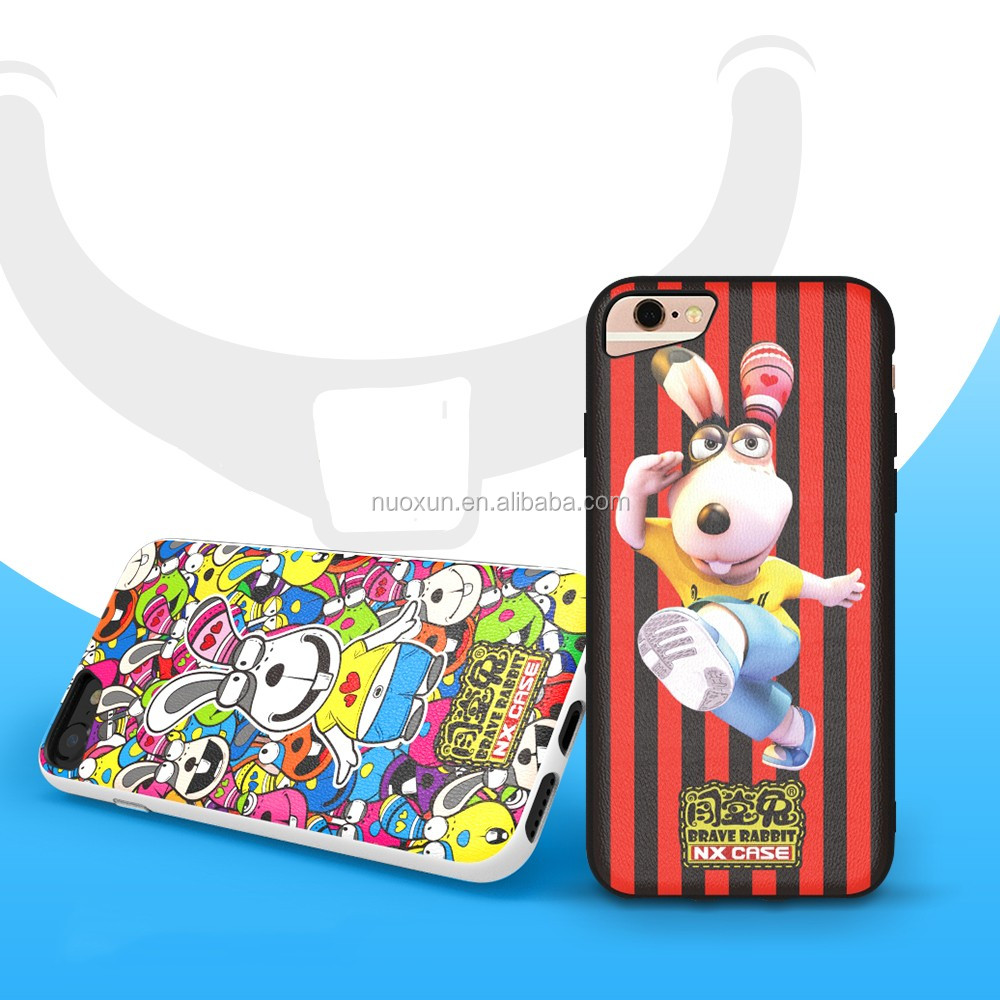 For top quality newest fashion national style 2 in 1 como cases cover for I7/I6 4.7 inchs