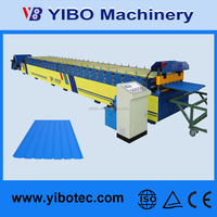Roof Making Manufacturer Machine Aluminum galvanized zinc Tile Roll Forming Machine