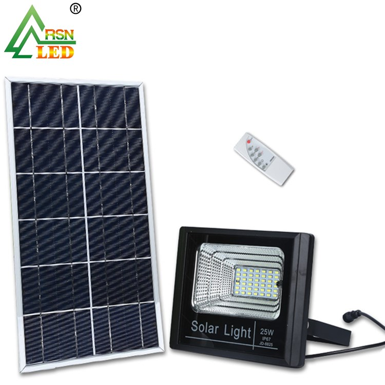 Get US$500 coupon aluminum outdoor 25w <strong>flood</strong> led solar light outdoor