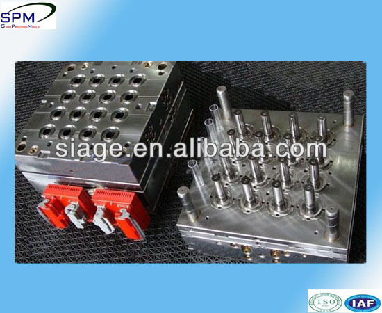 Transparent medical plastic injection test tube molds factory