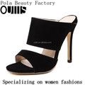 New design high heel sandals shoes slippers sandals for hot-selling PZ4159