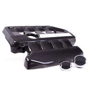 Light Weight Abrasion Resistant Carbon Fiber Engine Cover