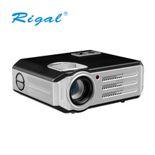 3200 Lumens Popular Android Built-in Wifi Wireless LCD LED Projector, Support 1080P Home theater Projector