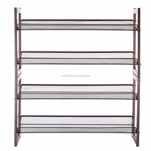 Vivinature shoes storage rack, shoes rack with mesh metal style