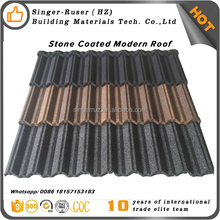 2 Meters Metal roofing tile Accessories materials Stone Coated Roof Tile Lowes metal roofing cost and ridge cap price