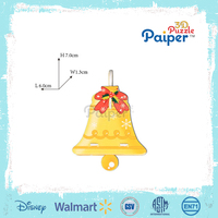 3d puzzle paper christmas craft christmas bell ornament