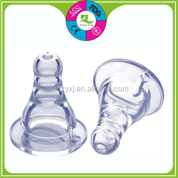 Cheap Factory New Design Liquid Silicone Nipple Baby Bottle Teat