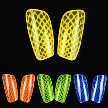 High Quality hard pp shell custom soccer shin guard hot sale plastic sport football shin guard