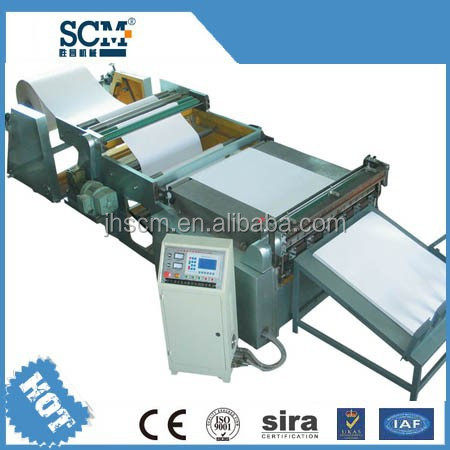 SCM full automatic high speed a4 paper cutting machine for export in china