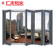 Chinese latest design interior decorative folding aluminium door