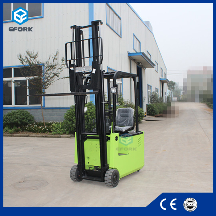 Electric Forklift Equipment with 3 m Lifting Height
