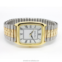 2013 Upper Bling Bling Women's Gold Diamond Case Alloy Band Bracelet Watch