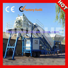 Good Sale UTM50 Mobile Portable Concrete Batching Plant