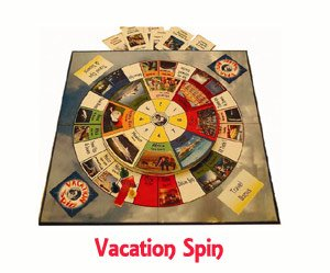 Vacation Spin Games