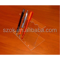 Clear simple design acrylic cell phone/acrylic mobile phone display
