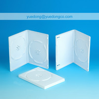 14MM WHITE DVD CASE/DVD BOX/DVD COVER(YD-024-B)..YDD