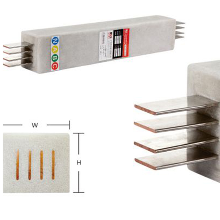 high performance flexible copper busbar