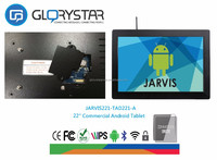 22 inch tablet pc , 3g/wifi/network electronic advertising , android tablet 3gb