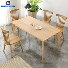 Wooden Dining Table Set Home Furniture