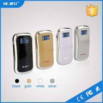 free shipping portable 7800/6000 mah rohs power bank