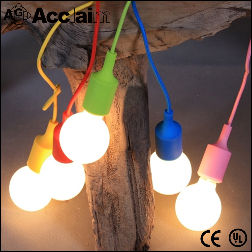 Colorful waterproof ceiling pendant lamp silicone lamp shade/covers/Kits