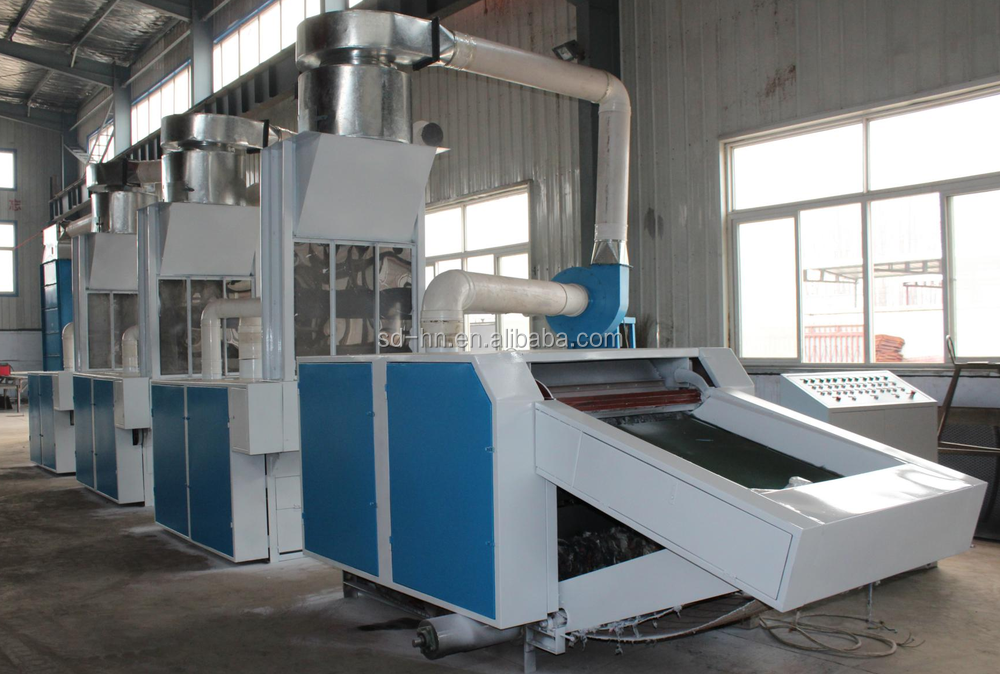400~500kg/h Fabric Waste Recycling Machine