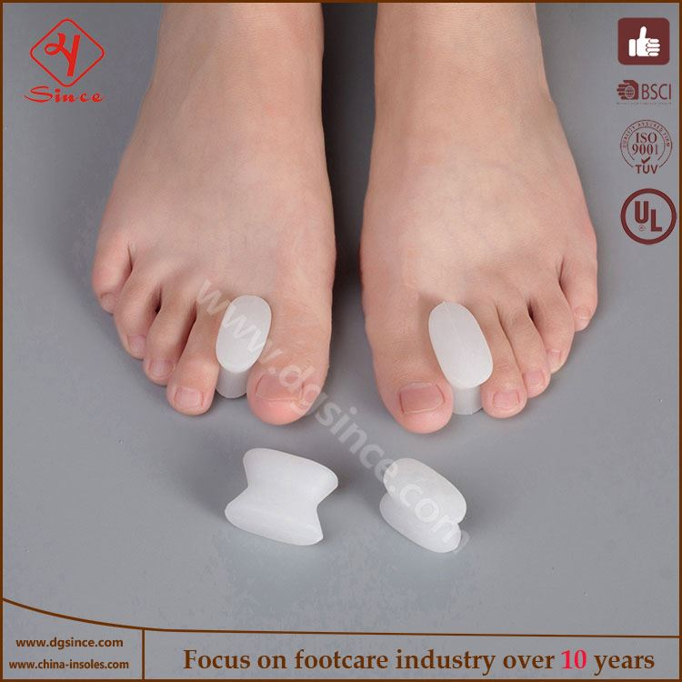 Factory direct sales foot care gel toe tube corn blister protector callus toe finger protector