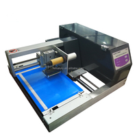 automatic plateless digital foil printer hot stamping foil machine for notebook