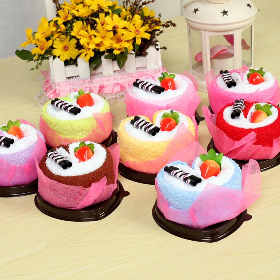 Mendior Cupcake Towel Baby Birthday StrongGift Strong