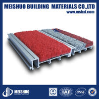 Interlocking Dust control floor mat systems for high foot traffic