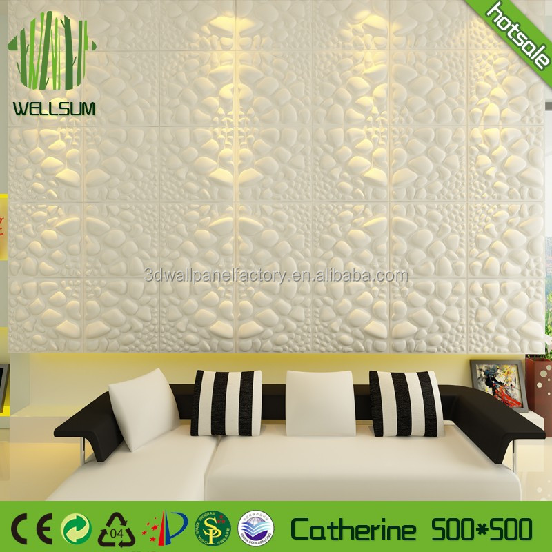 pure bamboo fiber decorative 3d wall panel wallpaper elegance & tranquility for baby room