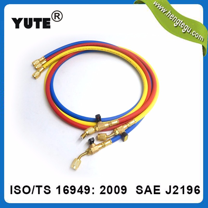 1/4 inch air conditioning R12 refrigerant charging hose