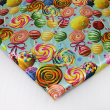 colorful lollipop bedding set printing fabric stain fabric