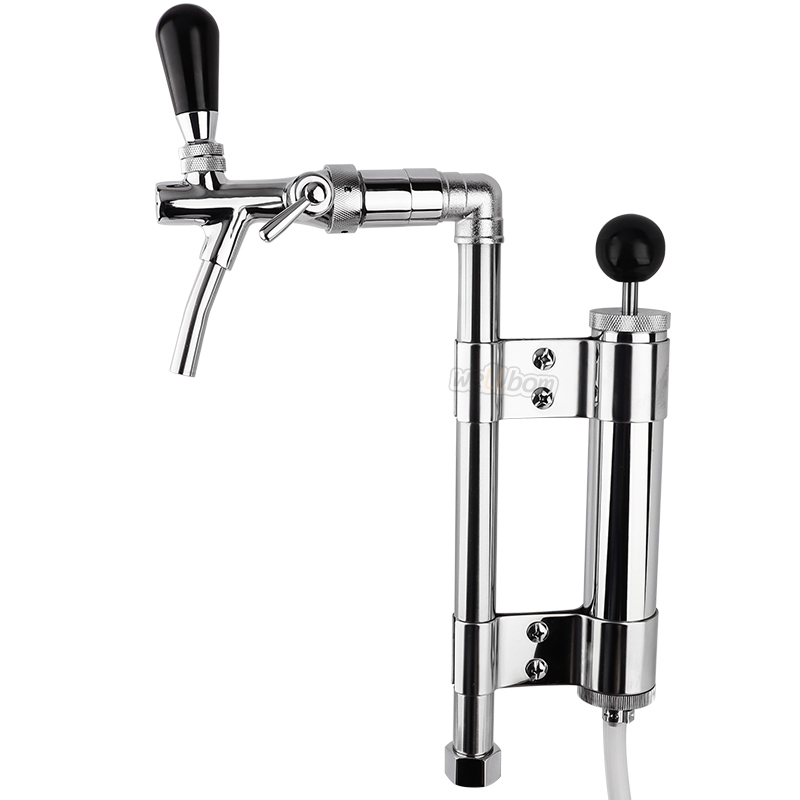Keg Party Beer Pumps  Heavy Duty Draft Adjustable Beer Picnic Party Pump Keg Tap Upright with Tall Metal Pump Assemble