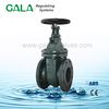 NRS metal seated flanged cast iron gate valve ,cast iron non-rising stem gate valve for water supply