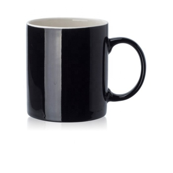 Customized cheap sublimation printed coating ceramic mugs for 11oz