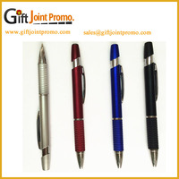Promotional Cheap Click Metal ballpoint Pen with LOGO