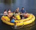 Funny yellow modelar aquatic Inflatable Water Game