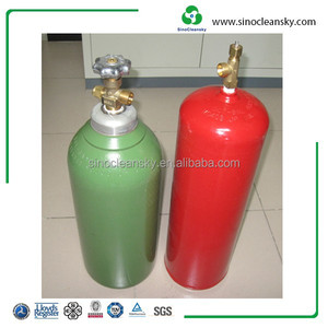 Oxygen Cylinder and Acetylene Gas Cylinder for Welding and Cutting