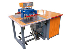 Double generator and head high frequency plastic welding machine