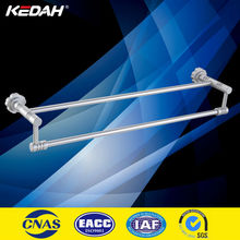 wall mounted pearl white unique aluminium double towel bars