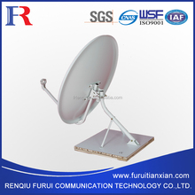 KU DTH TV parabolic satellite antenna