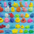 Rubber Sea Animal toy Bath water toy,custom make soft rubber plastic bath toy animal,sea animal floating squeeze toys