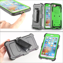 Protective Rugged Armor Phone Cover Belt Clip Holster Hard Case for Iphone 7