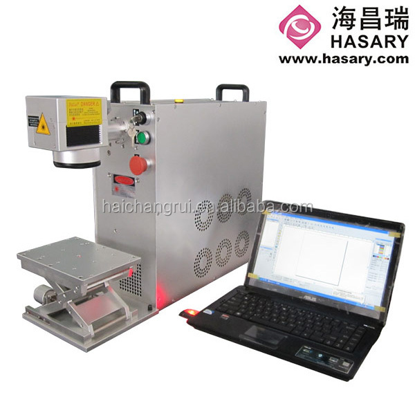 top quality stainless steel mini laser marking machine price list w/100w from hasary