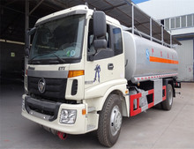China top brand Foton 5000L oil delivery trucks for sale 5m3 fuel delivery trucks