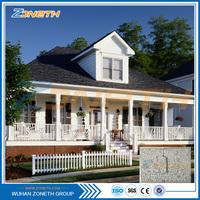 Real estate safe ready made prefabricated eco prefab home