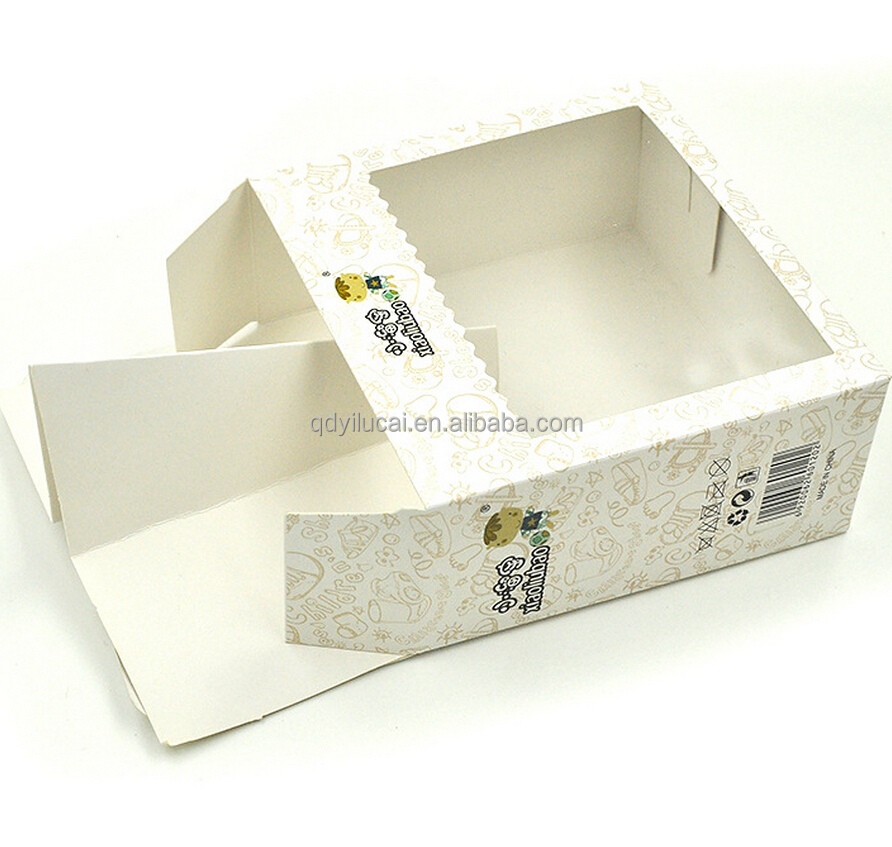 Fancy baby shoes packaging paper box