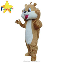 Funtoys CE Outdoor Walking Big Tail Squirrel Animal Mascot Costumes